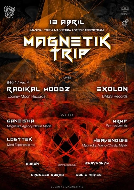 Magnetik Trip 13 Apr '19, 23:30