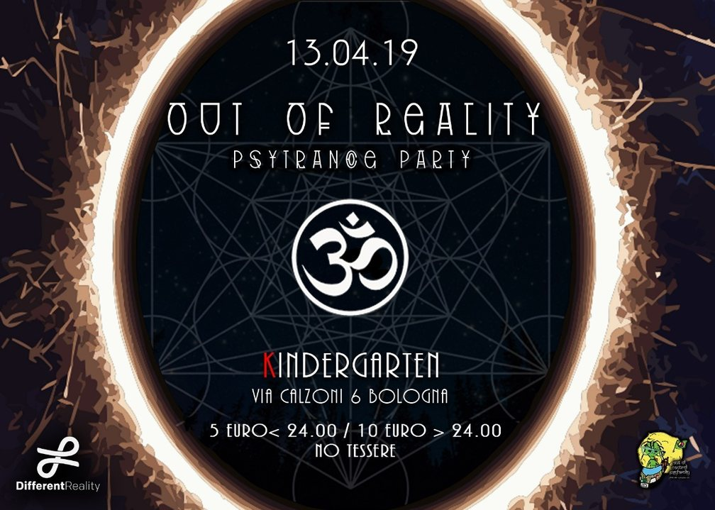 Out of Reality 13 Apr '19, 23:00