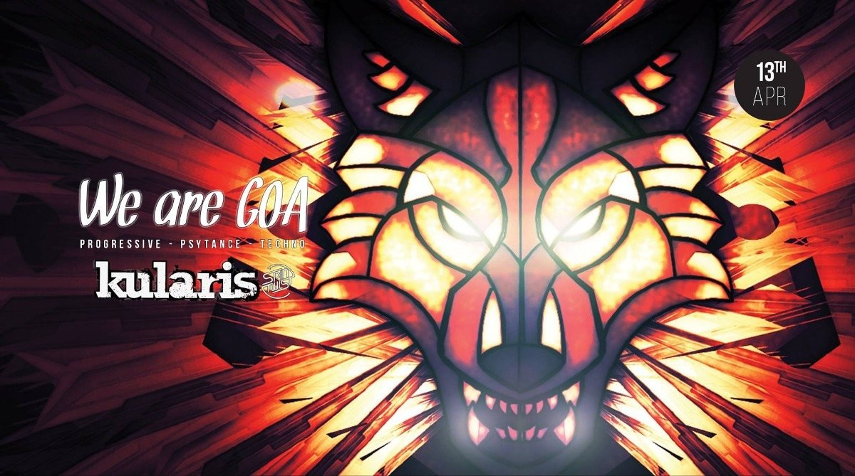 We are GOA | Kularis - Spintwist Records 13 Apr '19, 23:00