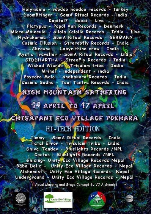 High Mountain Gathering Vol-II 14 Apr '19, 10:30