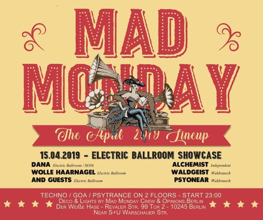 Mad Monday • Electric Ballroom Showcase 15 Apr '19, 23:00