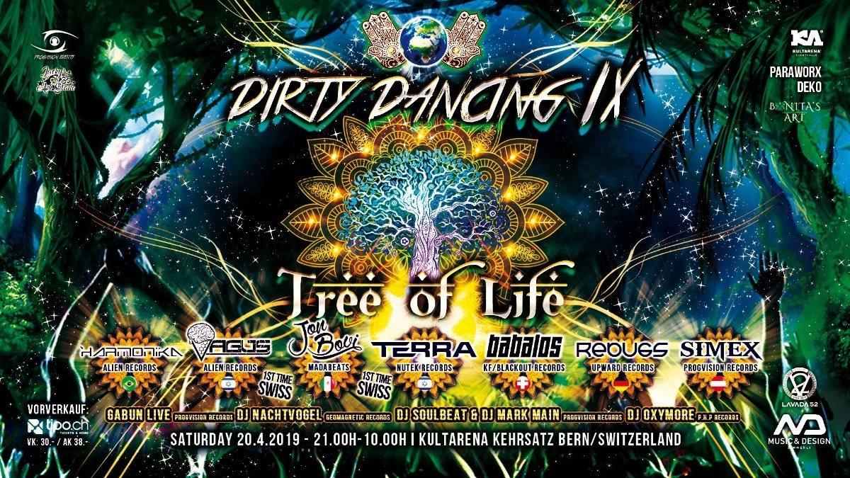 ★ DIRTY DANCING IX ★ w/ Harmonika, Vagus, Jon Bovi, Babalos Terra, Simex, Rebugs 20 Apr '19, 21:00
