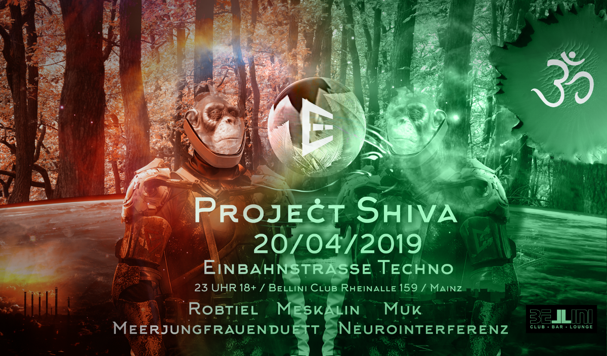 Projekt Shiva 20 Apr '19, 23:00