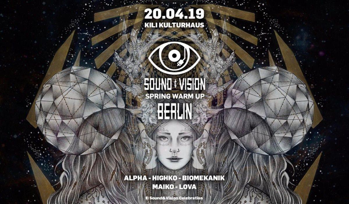 Sound&Vision Spring Warm Up with HIGHKO ALPHA BIOMEKANIK 20 Apr '19, 23:00