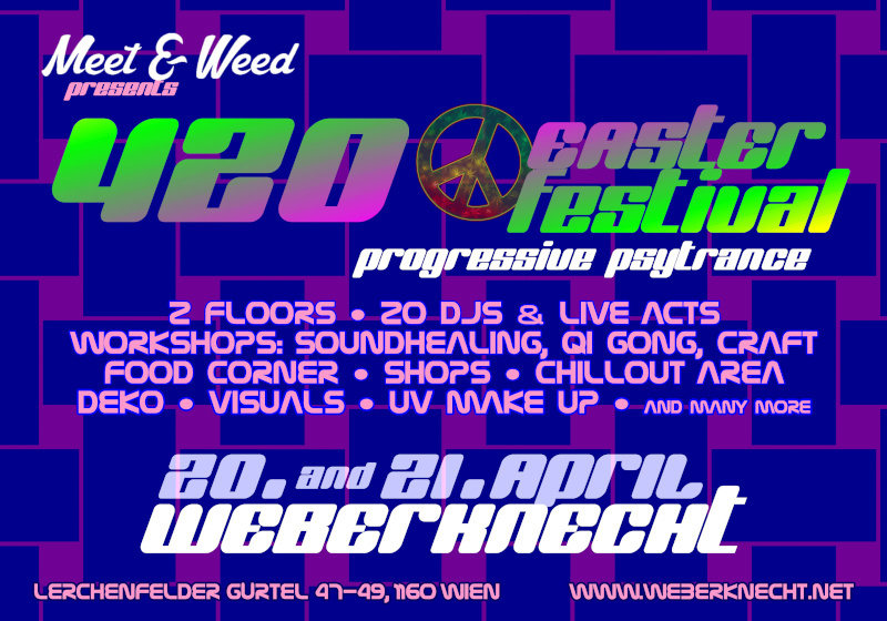 420 Easter Festtival 21 Apr '19, 19:00