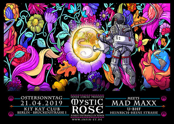 The Mystic Rose meets MAD MAXX 21 Apr '19, 23:00