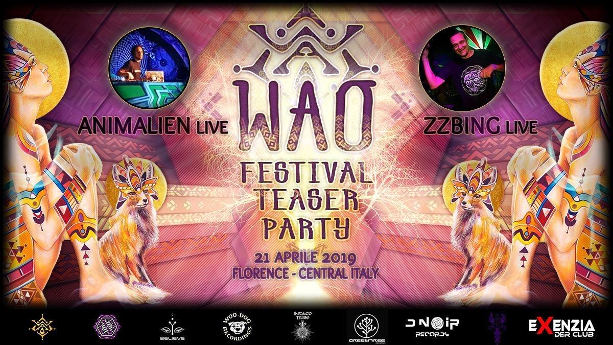 ...:: W.A.O. FESTIVAL - Teaser Party ::... 21 Apr '19, 23:00
