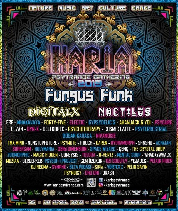 Karia Psytrance Gathering 2019 25 Apr '19, 18:00
