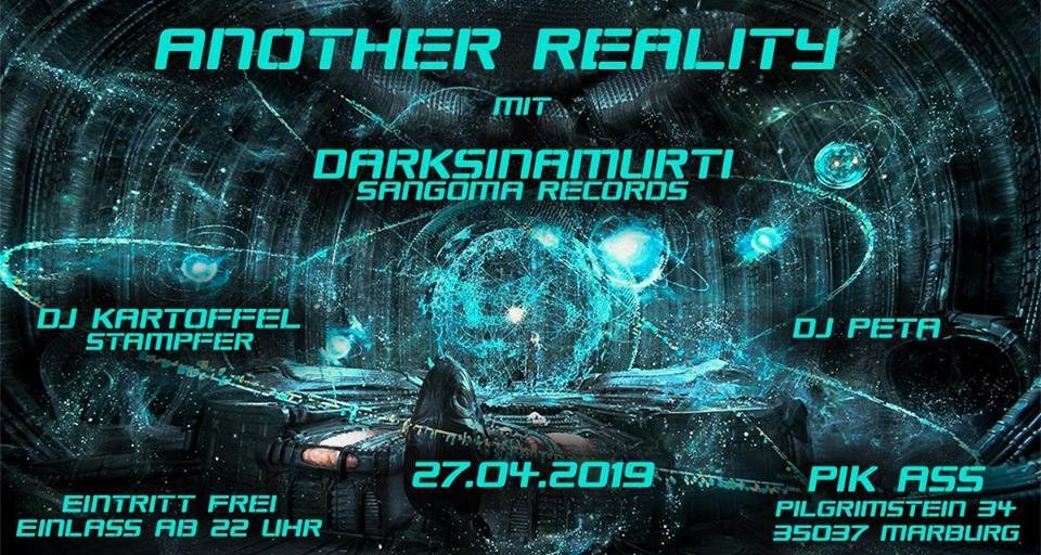 Another Reality w. Daksinamurti - Sangoma Records 27 Apr '19, 22:00