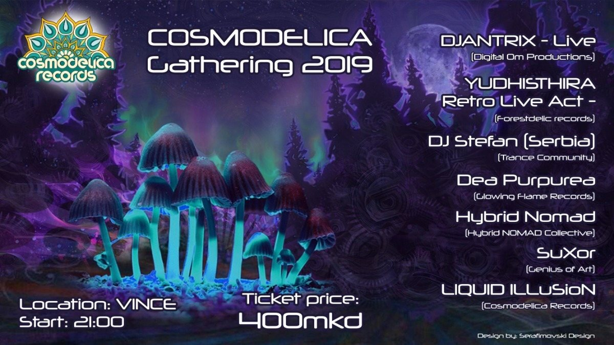 Cosmodelica Gathering 2019 30 Apr '19, 21:00