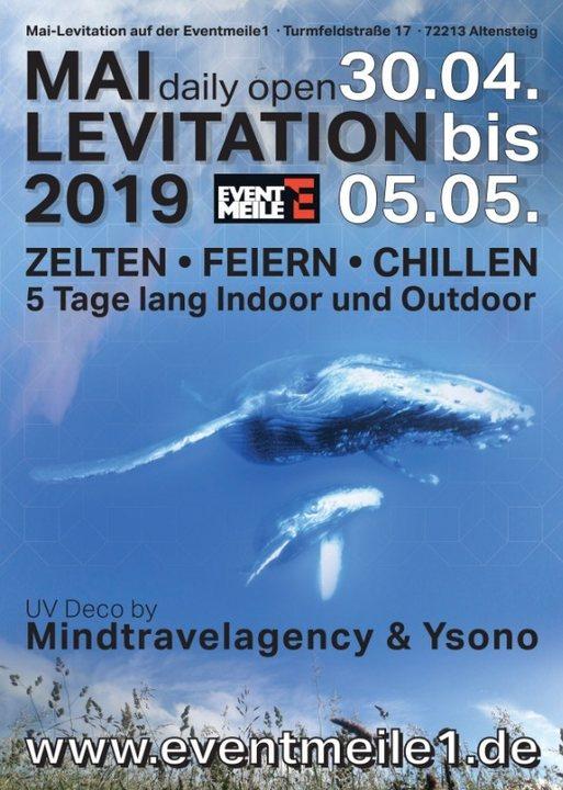 Mai-Levitation 30 Apr '19, 21:00