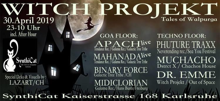 Witch Projekt - Tales of Walpurga 30 Apr '19, 22:00