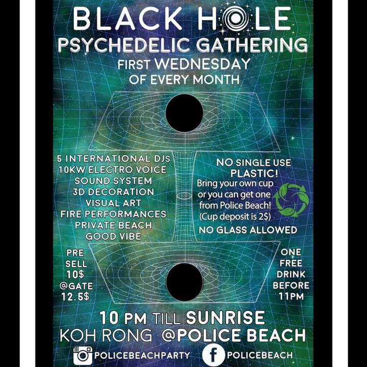 Black Hole Psychedelic Gathering 1 May '19, 22:00