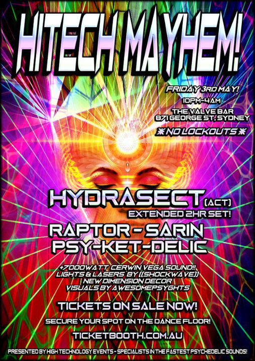 Hitech Mayhem! 3 May '19, 22:00