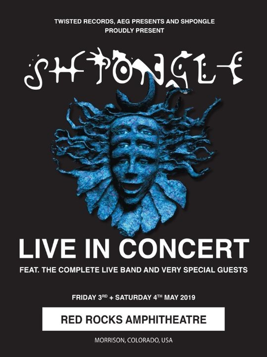 Shpongle LIVE IN CONCERT (Final Performance) 3 May '19, 18:30