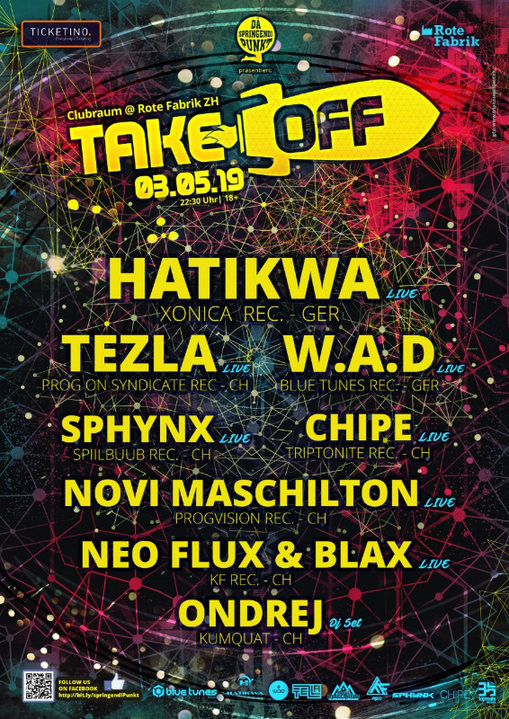 TAKE OFF 3 May '19, 22:30