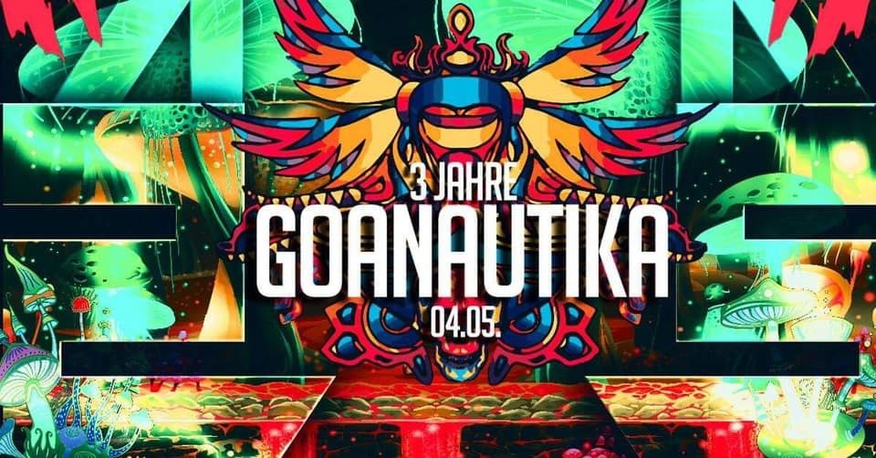 ॐ3 Jahre Goanautika Closing /w.Day Din & Friendsॐ 4 May '19, 23:00