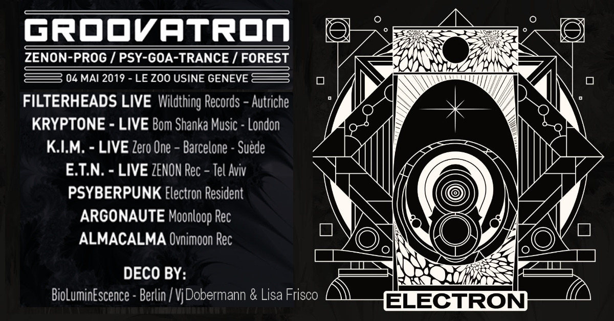 GroovaTRON 4 May '19, 22:00