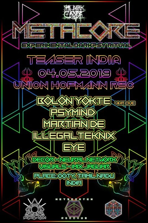 METACORE Festival Teaser INDIA by Union Hofmann Records 4 May '19, 19:00