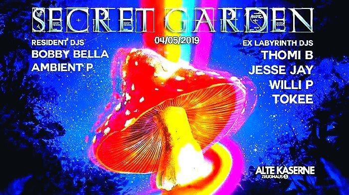 SECRET GARDEN w/ ex-Labyrinth DJs 4 May '19, 23:00