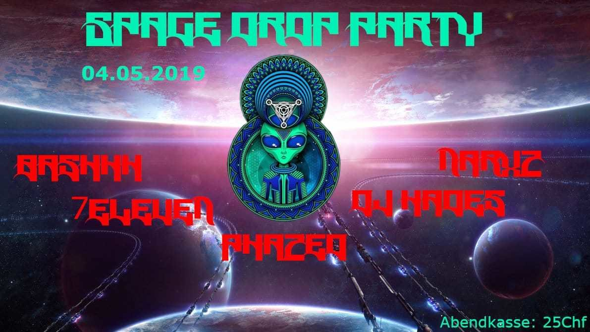 Space Drop Party 4 May '19, 21:00