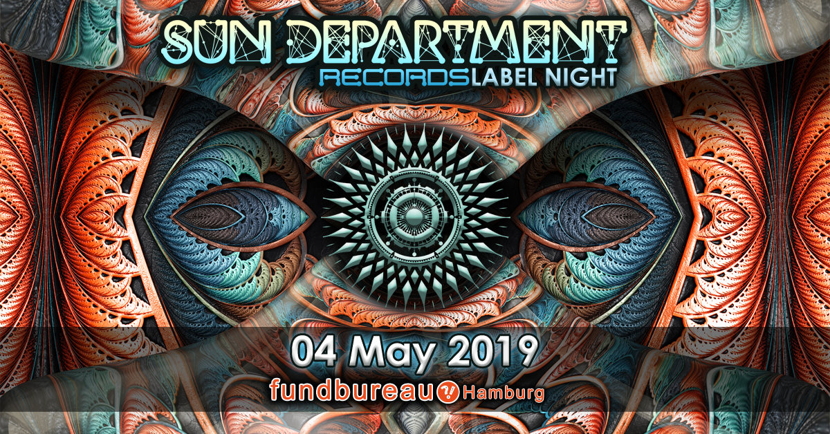 Sun Department Records Label Night 4 May '19, 23:00