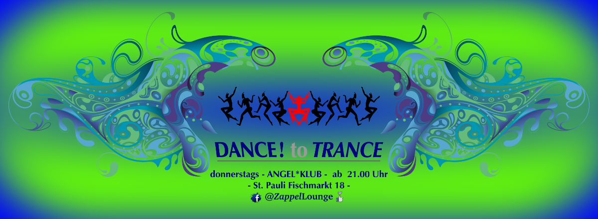 DANCE! to TRANCE 9 May '19, 21:00