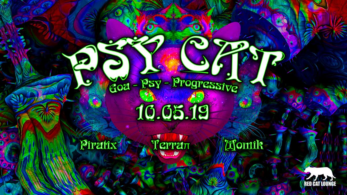 Psy Cat - Piratix / Terraπ / momik 10 May '19, 23:00
