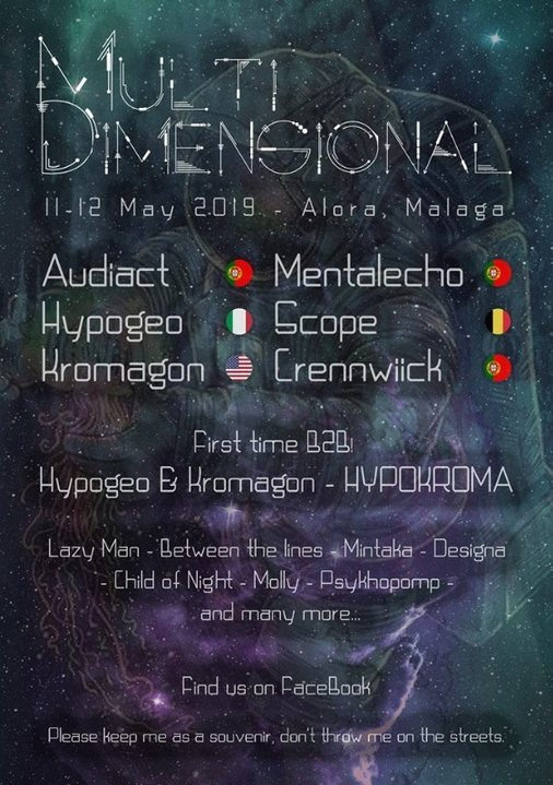 Multi Dimensional Festival 11 May '19, 22:00