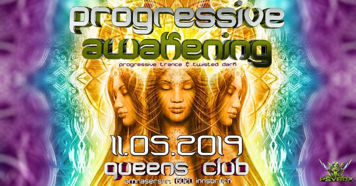 Psybox - Progressive Awakening - with RANJI - TERRA - BELIK BOOM *live 11 May '19, 22:00