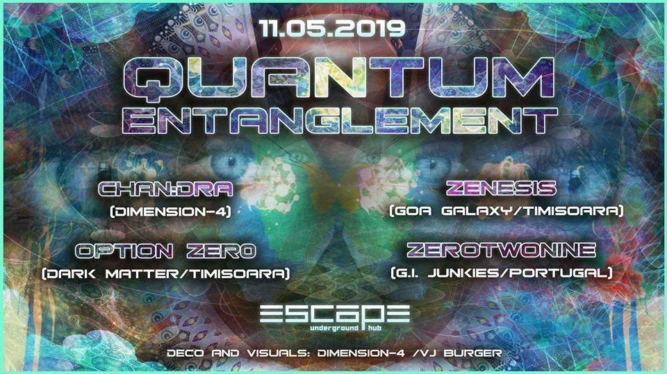 Quantum Entanglement 11 May '19, 23:30