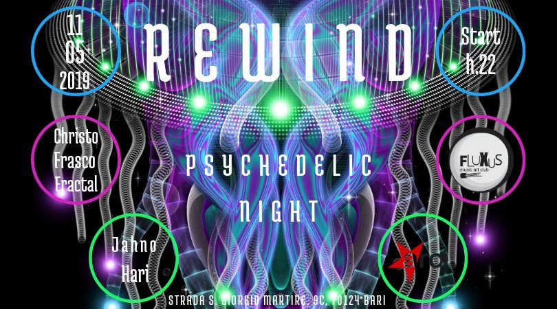 REWiND - Psy Party 11 May '19, 22:00