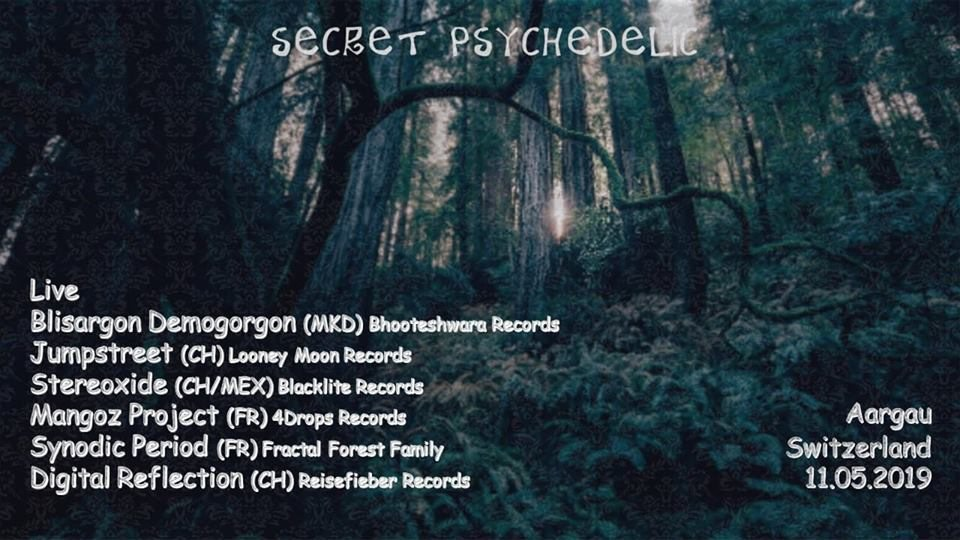 Secret Psychedelic 11 May '19, 01:00