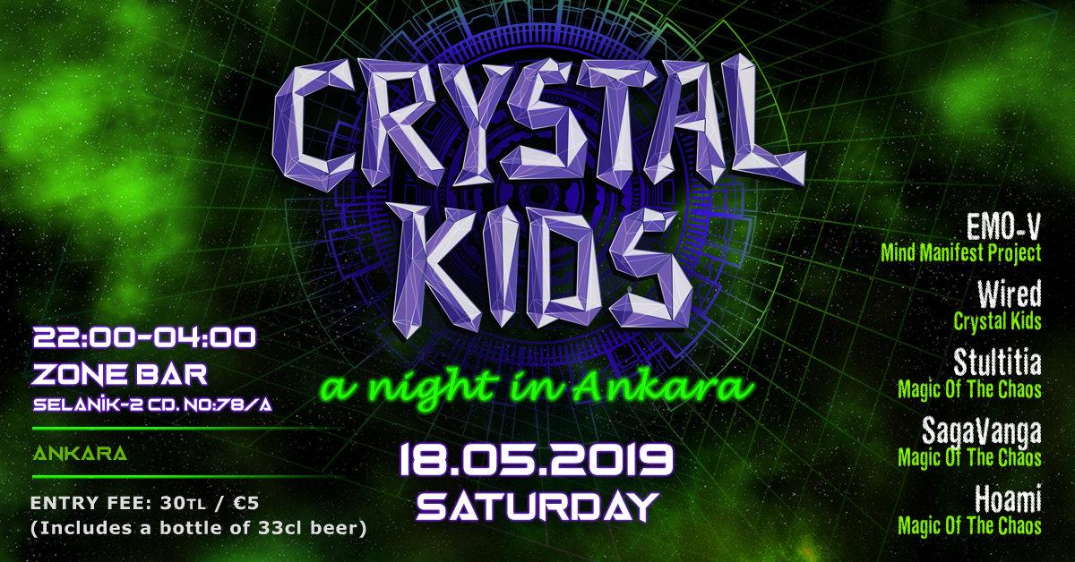 Crystal Kids Night Ankara 18 May '19, 22:00
