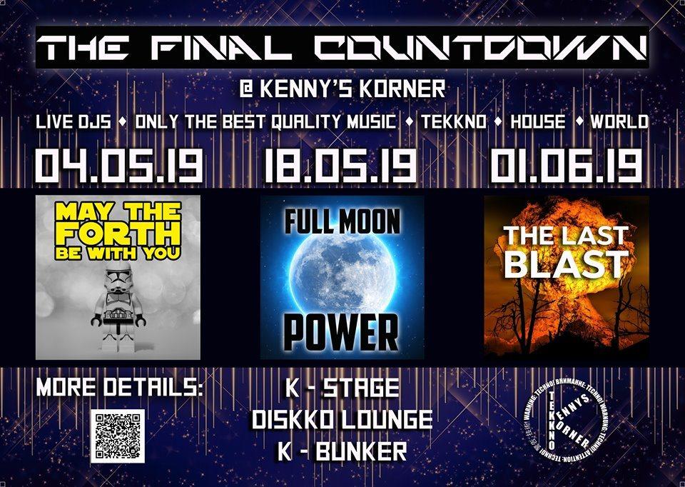 Full Moon Power 18 May '19, 09:00