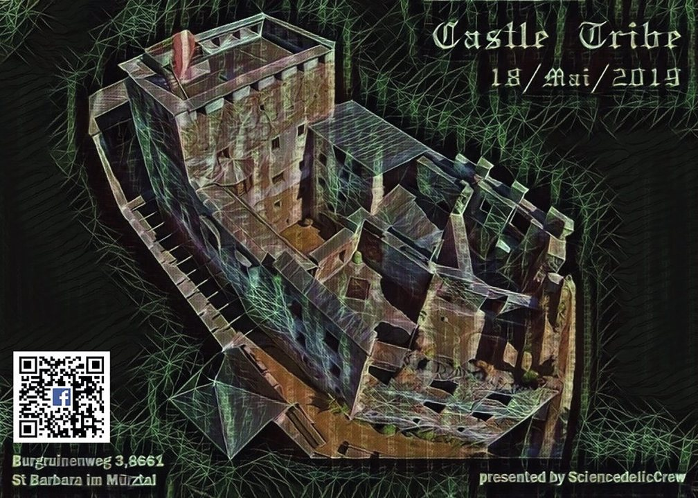 SCIENCEDELIC-CREW present ٠•●★CASTLE TRIBE★●•٠ 18 May '19, 22:00