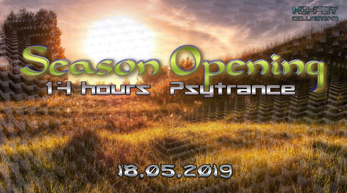 Season Opening @ Summerstation - Psytrance 18 May '19, 14:00