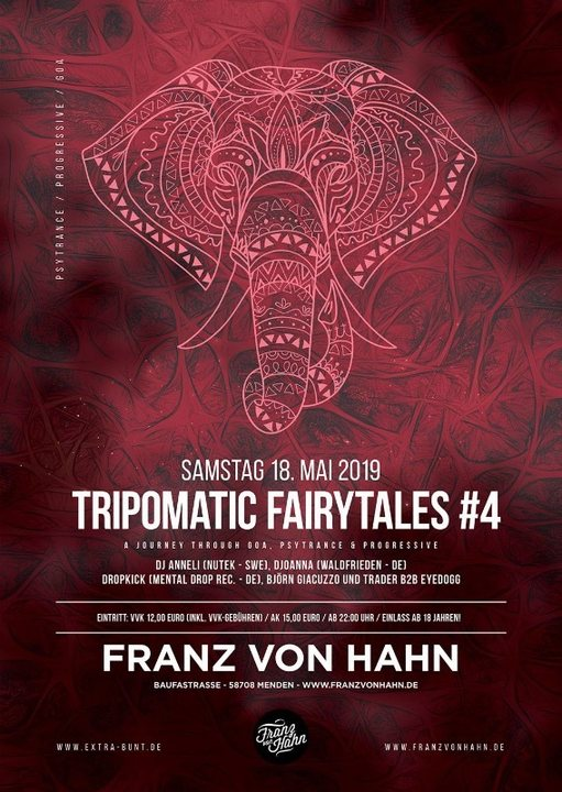 Tripomatic Fairytales #4 18 May '19, 22:00
