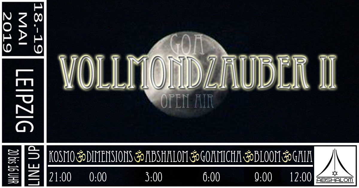 VollmondZauber II 18 May '19, 20:00