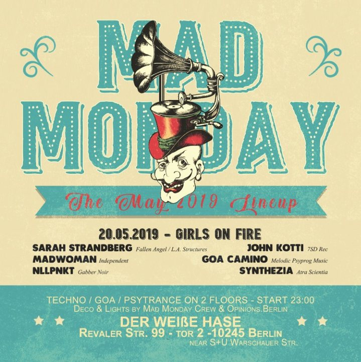 Mad Monday • presents Girls on Fire 20 May '19, 23:00