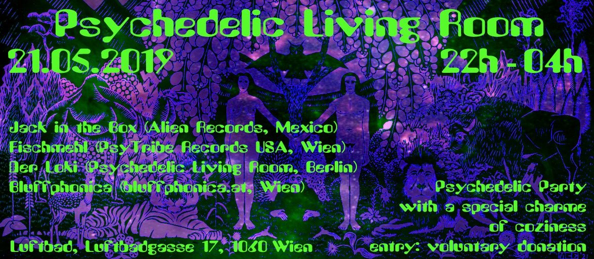 Psychedelic Living Room 21 May '19, 20:00
