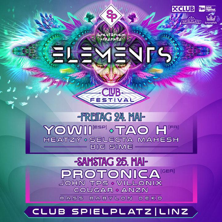 ELEMENTS CLUB FESTIVAL 24 May '19, 22:00