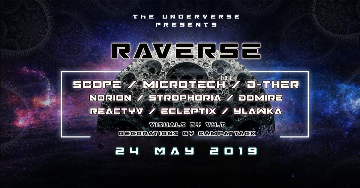 Raverse 24 May '19, 22:00