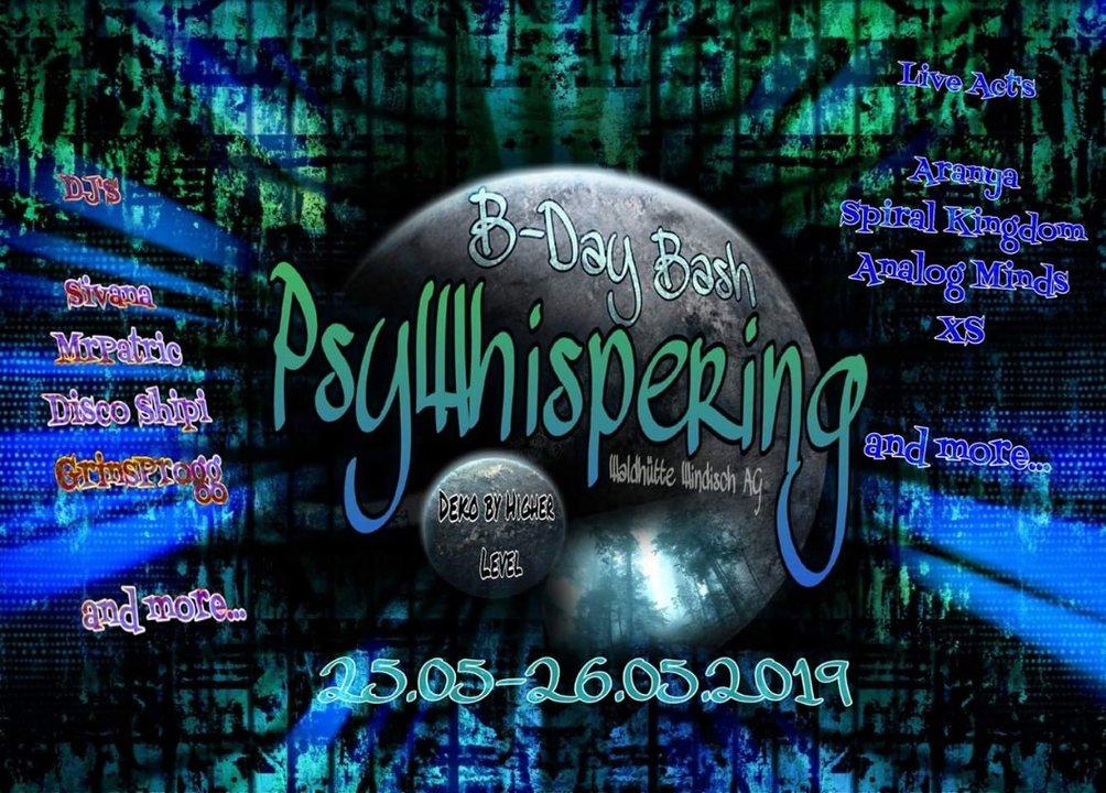 PsyWhisperings B-Day Bash 25 May '19, 12:00