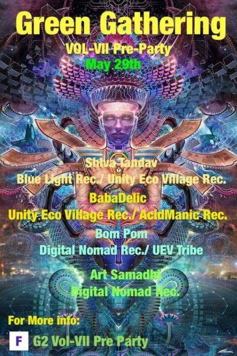 G2 Vol-VII Pre Party 29 May '19, 13:30