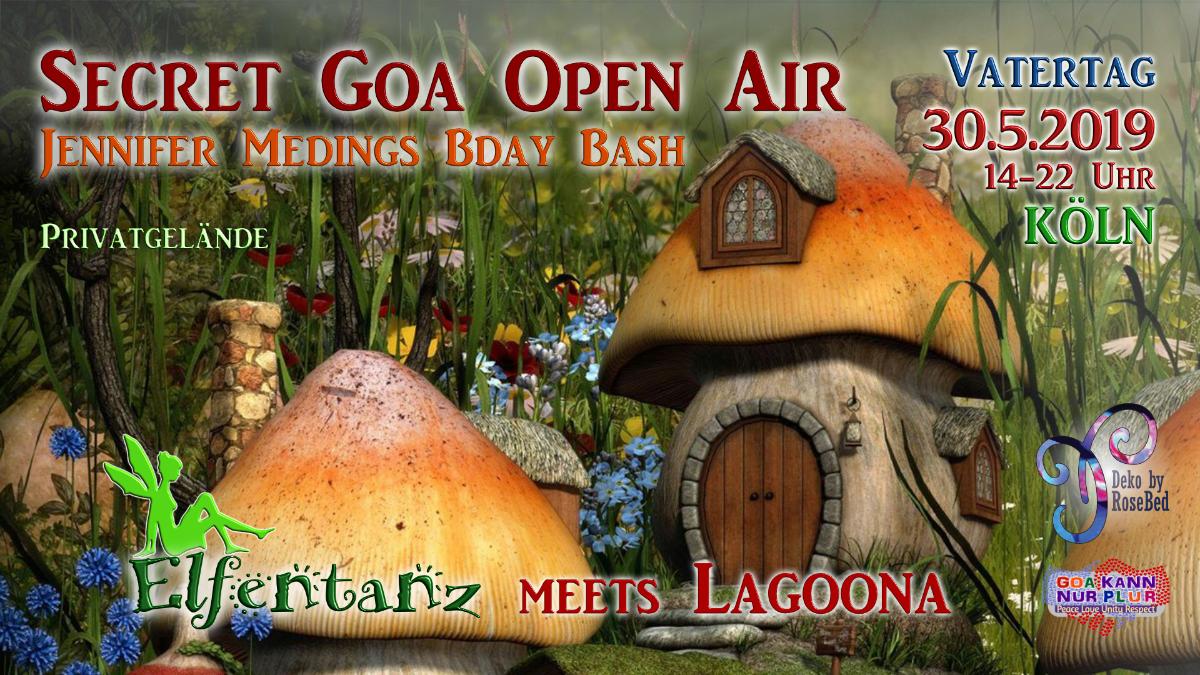 Elfentanz meets Lagoona Secret Goa Open Air / Jennys Bday Bash 30 May '19, 14:00