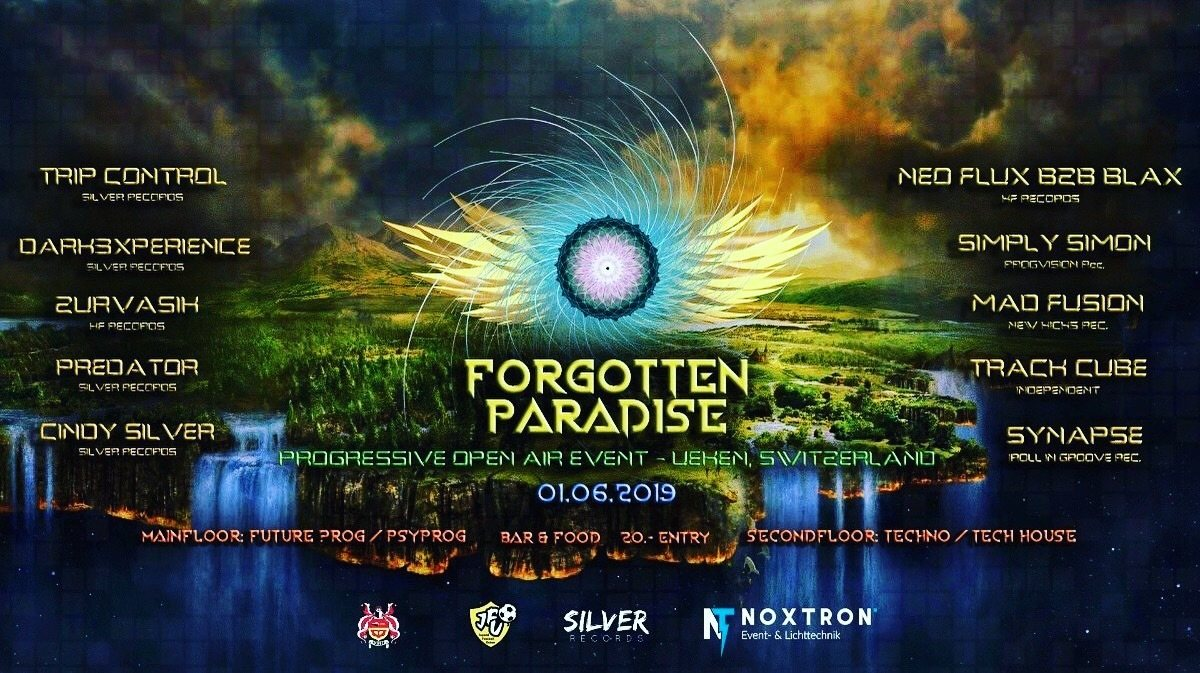 FORGOTTEN PARADISE 1 Jun '19, 17:00