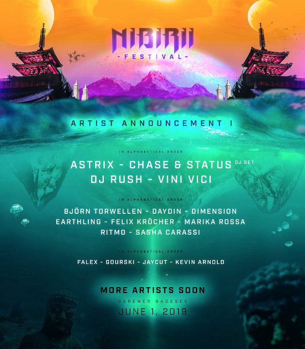 Nibirii Festival 2019 (Official) 1 Jun '19, 12:00