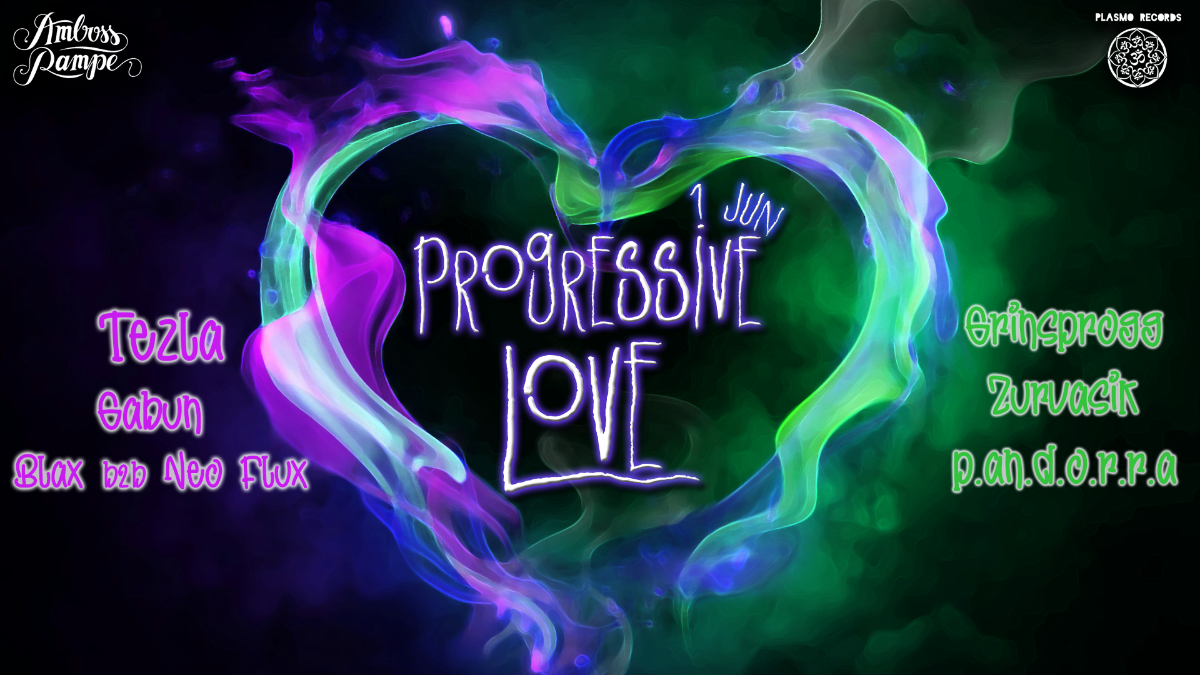 PROGRESSIVE LOVE 1 Jun '19, 22:00