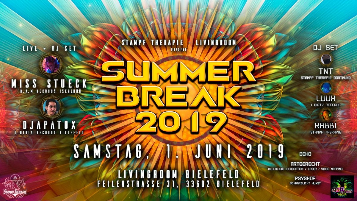 Summer Break 2019 1 Jun '19, 22:00